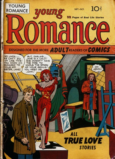 Young Romance #1 – 208 (1947-1975)