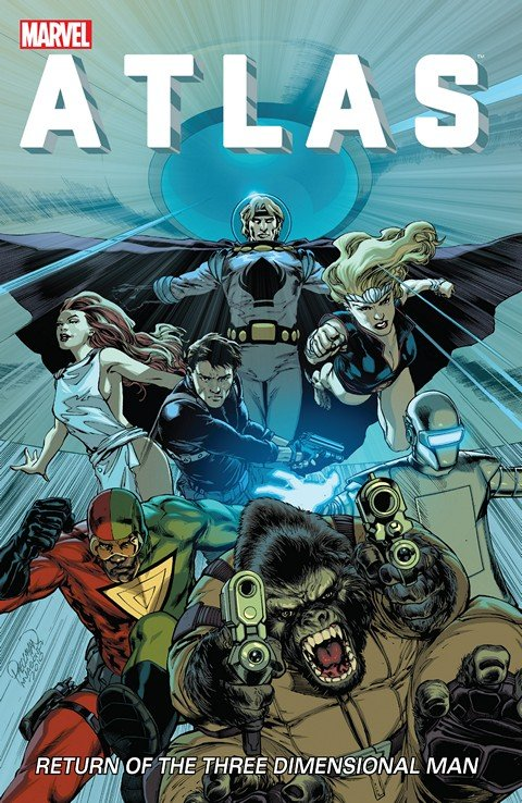 Atlas #1 – 5 + Atlas: Return of the Three-Dimensional Man (TPB)