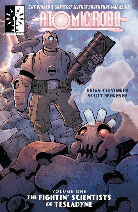 Atomic Robo Vol. 1 – 9 (TPB)