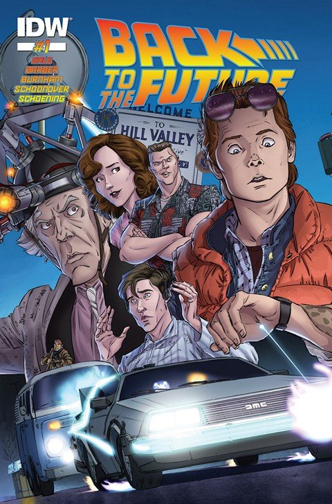 Back to the Future #1 – 4