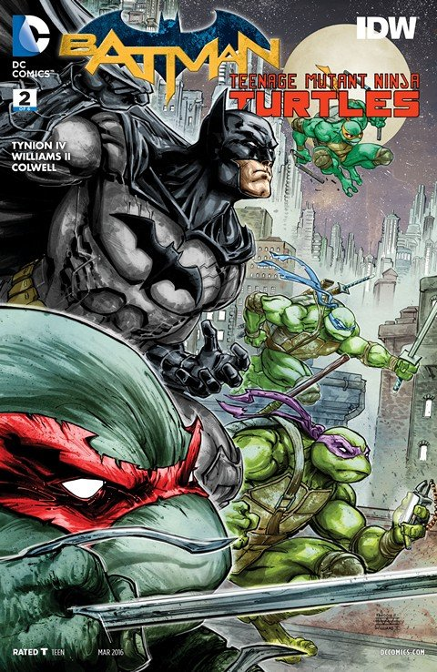 Batman – Teenage Mutant Ninja Turtles #2