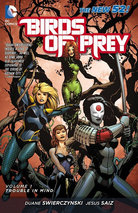 Birds of Prey Vol. 1 – Trouble in Mind