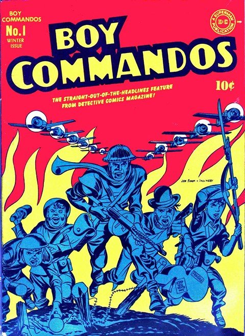 Boy Commandos Vol. 1 #1-36 + Vol. 2 # 1-2