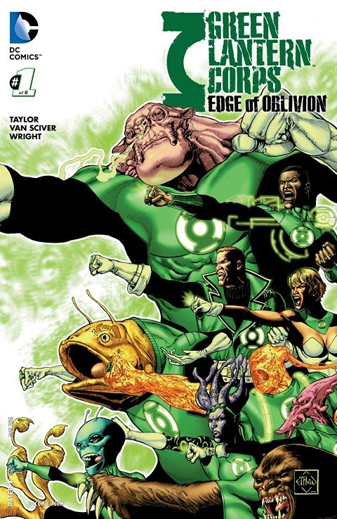 Green Lantern Corps – Edge of Oblivion #1