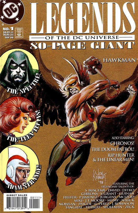 Legends of the DC Universe 80-Page Giant #1 – 2