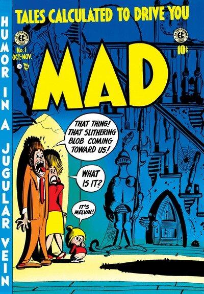 Mad Magazine #1 – 550 (1952-2018)