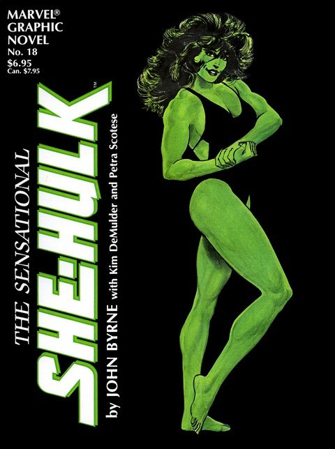 Marvel Graphic Novel #18 – The Sensational She-Hulk (1985)
