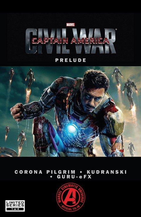 Marvel's Captain America Civil War Prelude #1 – 4