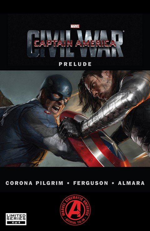 Marvel's Captain America – Civil War Prelude #4