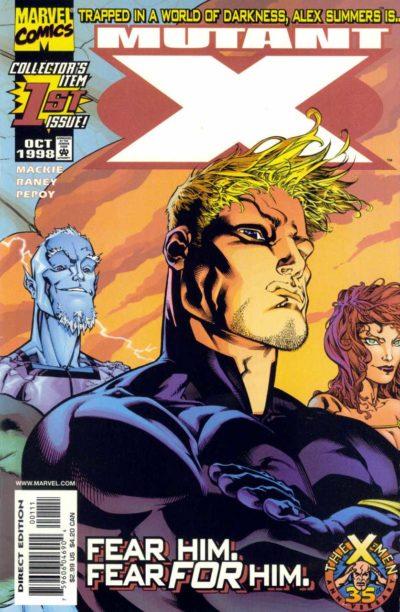 Mutant X #1 – 32 + Annual #1 – 3 (1998-2001)