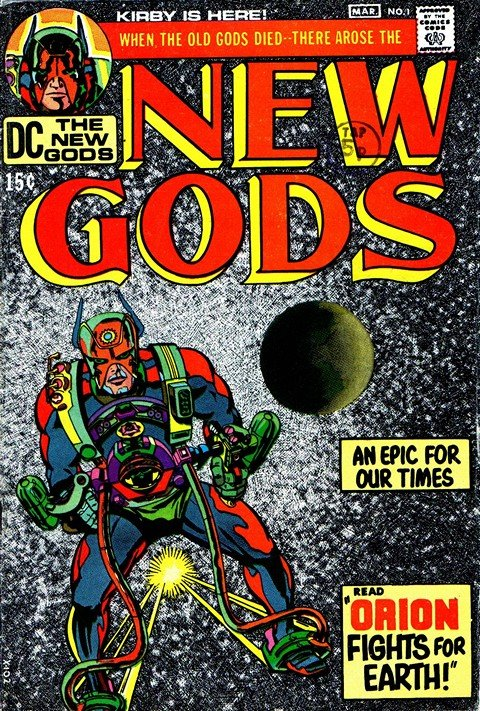New Gods Vol. 1 #1 – 19 + Deluxe #1 – 6
