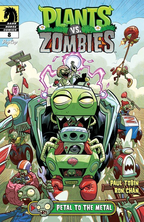Plants vs. Zombies #8 – Petal to the Metal #2