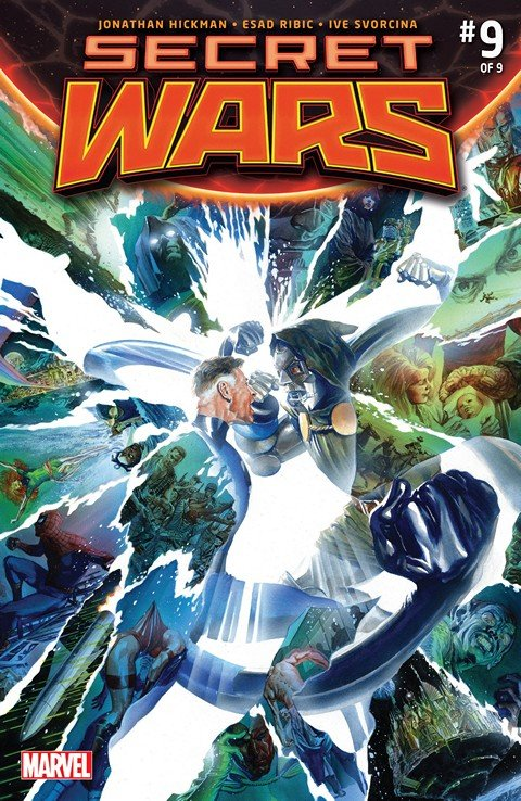 Secret Wars #0 – 9 + Extras (Ultimate Collection) (2015)