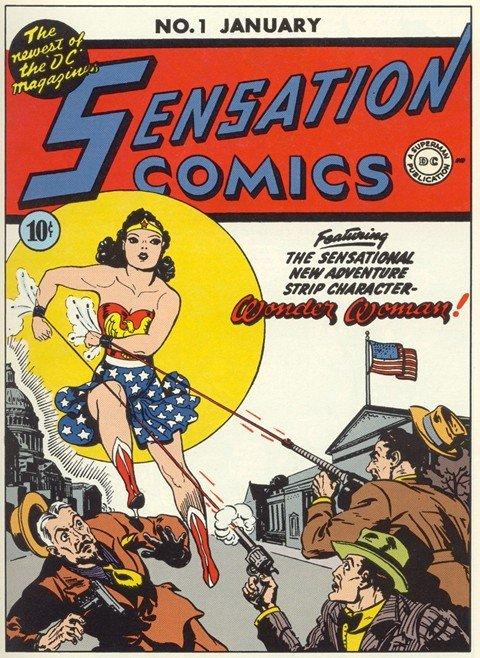 Sensation Comics Vol. 1 #1 – 116