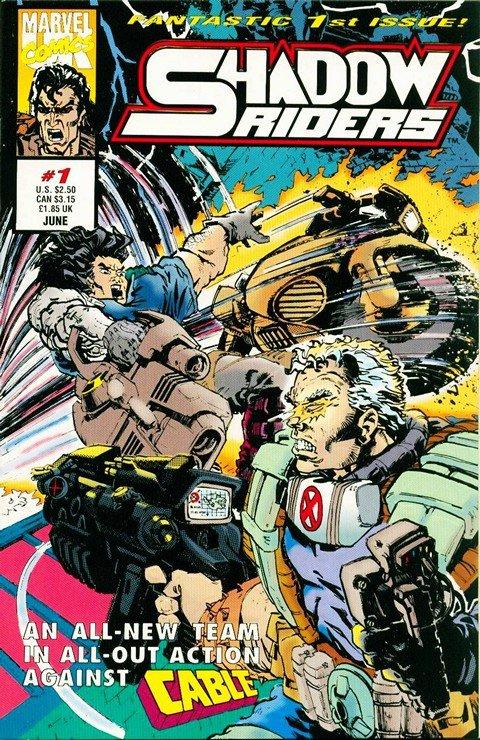 Shadow Rider #1 – 4