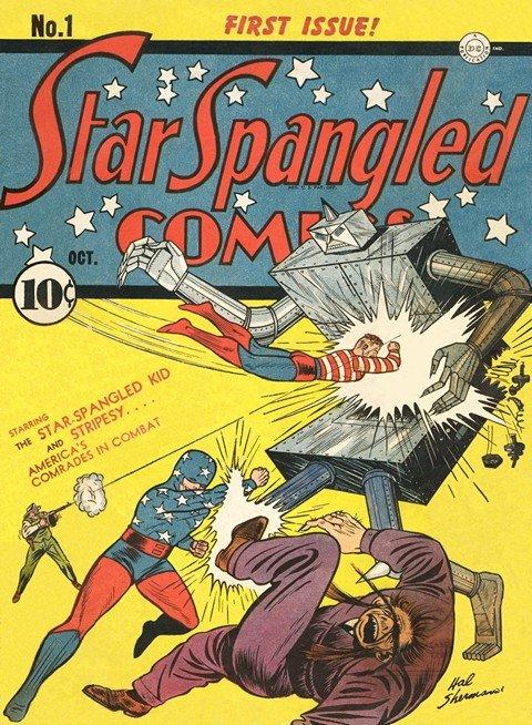 Star Spangled Comics #1 – 130 (1941-1952)