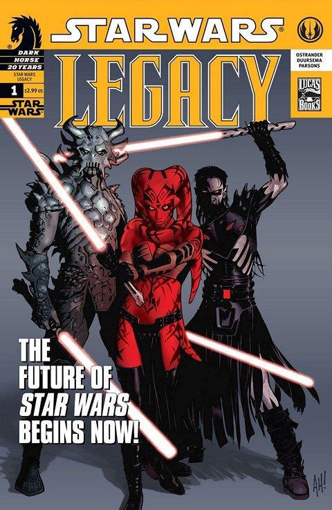 Star Wars – Legacy #0 – 50 + War #1 – 6 (2006-2011)