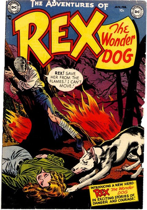 The Adventures of Rex the Wonderdog #1 – 46