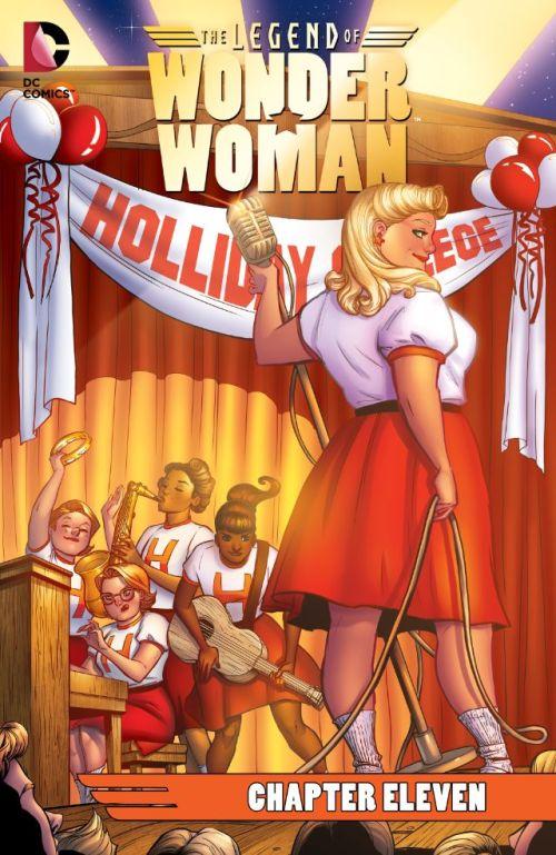The Legend of Wonder Woman #11