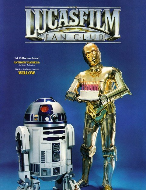 The Lucasfilm Fan Club Magazine #1 – 22 (1987-1994)