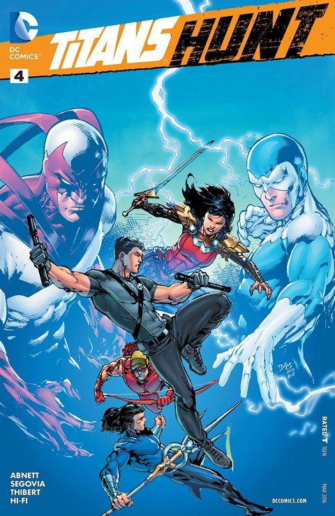Titans Hunt #4