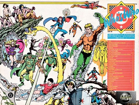 Who's Who in the DC Universe (Collection) (1984-1992)