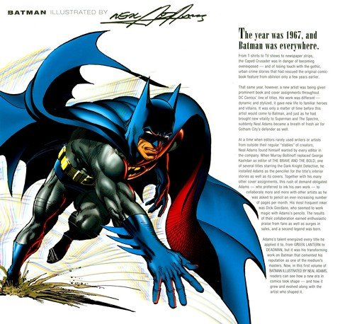 Batman Illustrated by Neal Adams Vol. 1