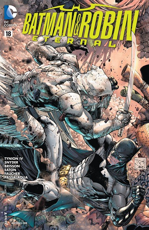 Batman & Robin Eternal #1 – 8