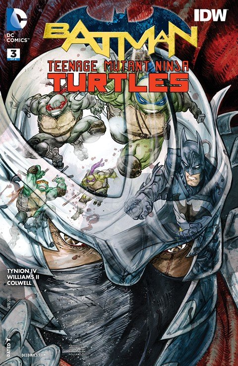 Batman – Teenage Mutant Ninja Turtles #3