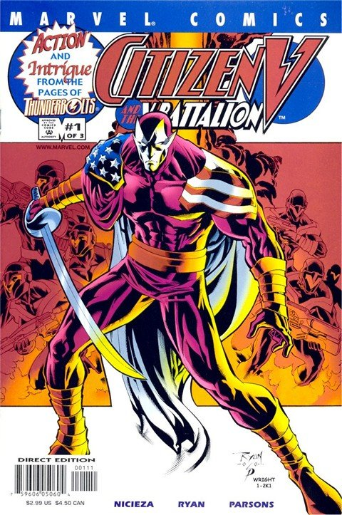 Citizen V and The V-Battalion Vol. 1 #1 – 3 (2001)