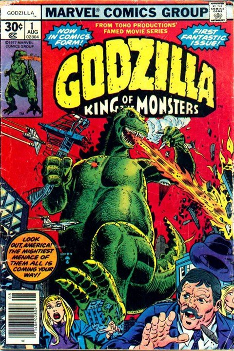 Godzilla #1 – 24 (King of the Monsters – Marvel Comics)
