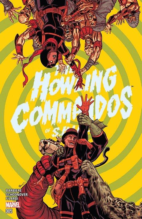 Howling Commandos Of S.H.I.E.L.D. #5