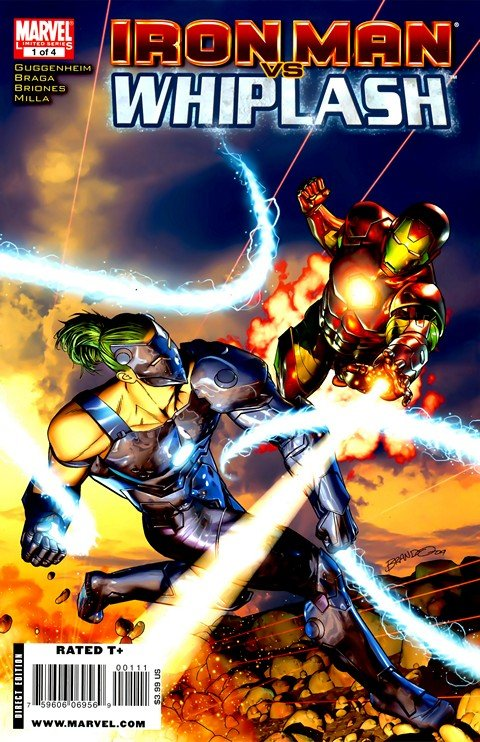 Iron Man vs Whiplash #1 – 4