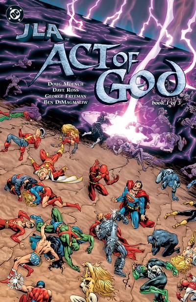 JLA – Act of God #1 – 3 (2001)