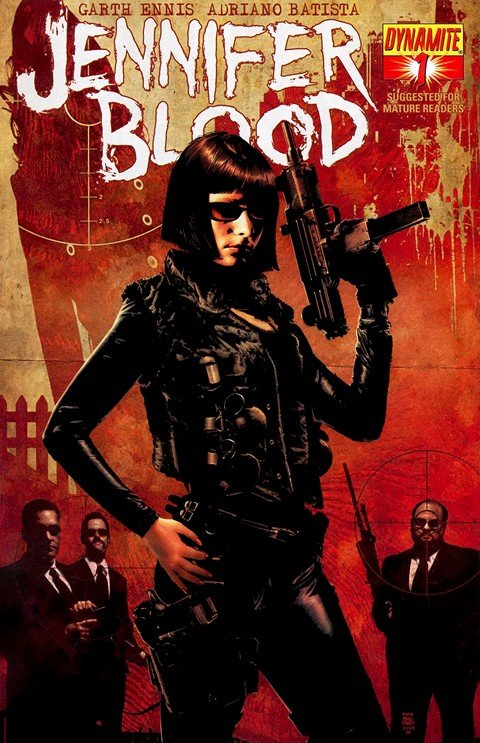Jennifer Blood #1 – 36 + Extras (2011-2014)