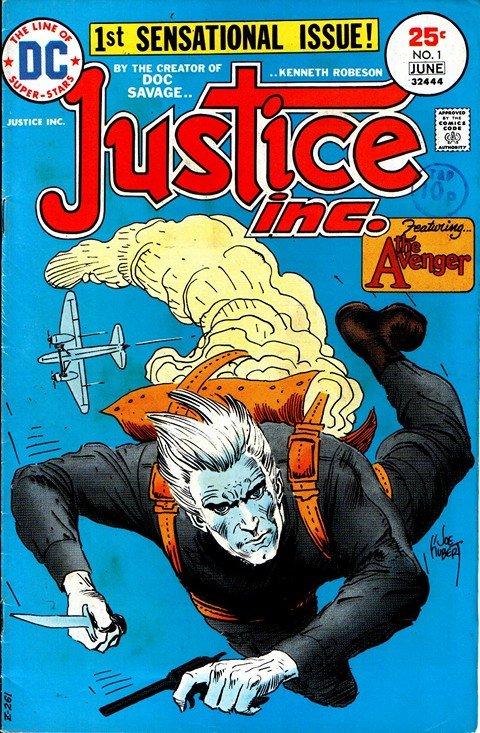 Justice, Inc. Vol. 1 #1 – 4 + Vol. 2 #1 – 2