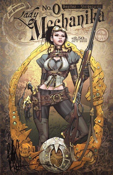 Lady Mechanika Vol. 1 #0 – 5 (2010)