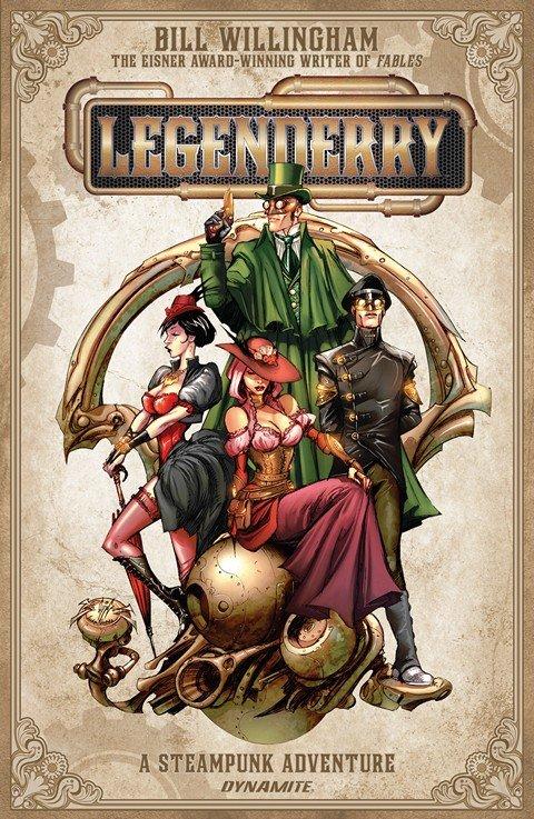 Legenderry – A Steampunk Adventure #1 – 7 (2013-2014)
