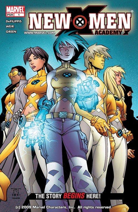 New X-Men Vol. 2 #1 – 46 + TPB Vol. 1 – 10 (2004-2016)