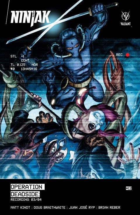 Ninjak #1 – 12 + Vol. 1 – 2
