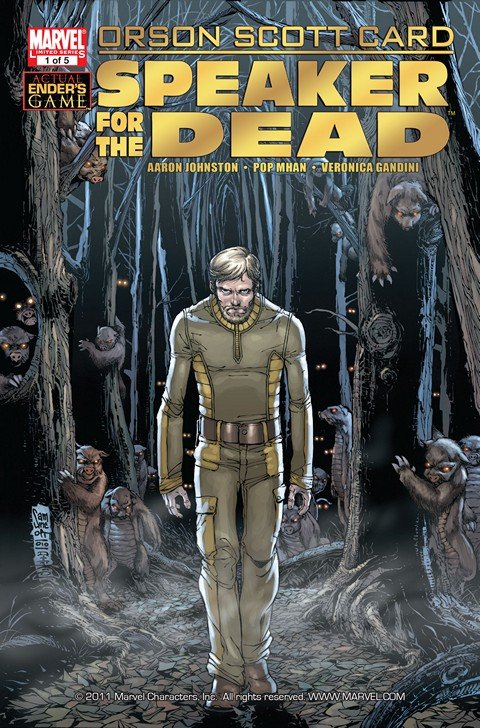 Orson Scott Card's Speaker For the Dead #1 – 5