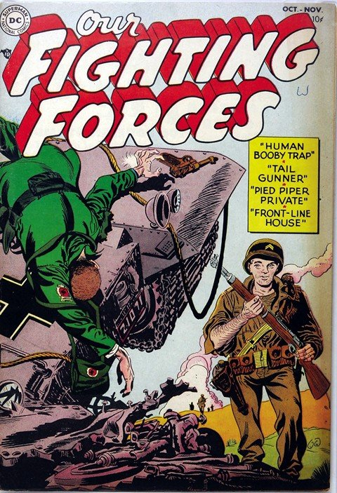 Our Fighting Forces Vol. 1 #1 – 181 (1954-1978)