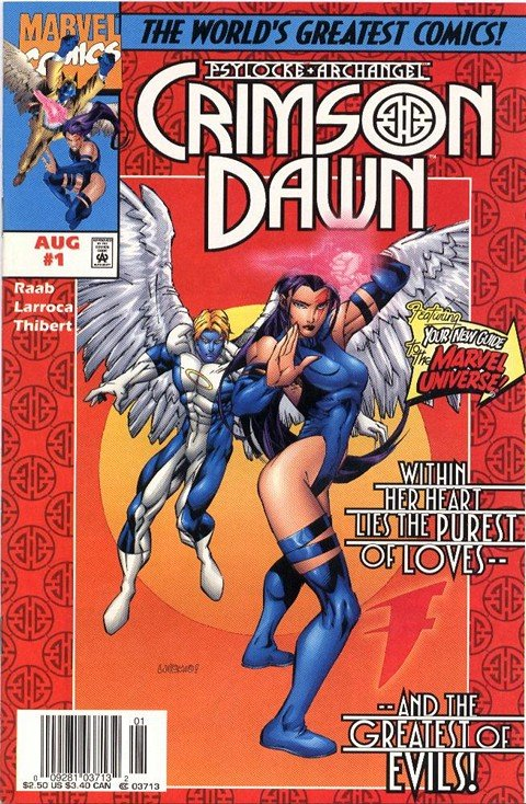Psylocke & Archangel – Crimson Dawn #1 – 4