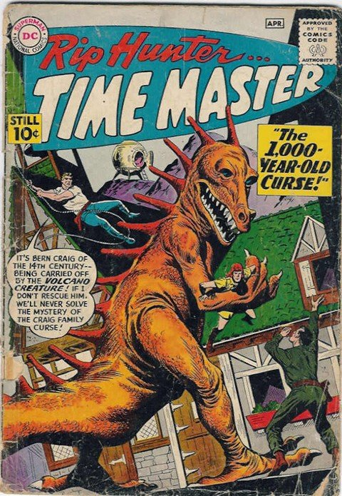 Rip Hunter – Time Master #1 – 29