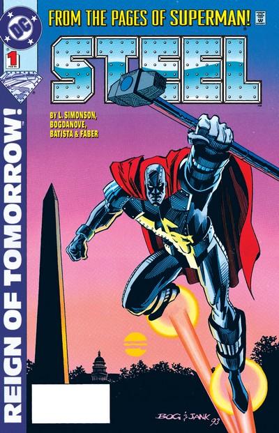 Steel #1 – 52 + Annual #1 – 2 (1994-1998)