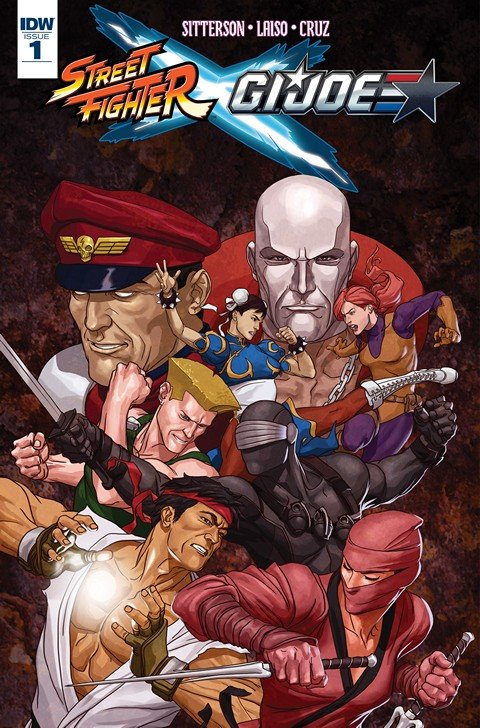 Street Fighter x G.I. Joe #1