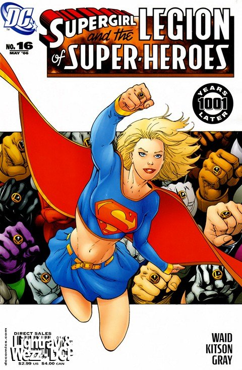 Supergirl and the Legion of Super-Heroes #16 – 36 (2006-2008)