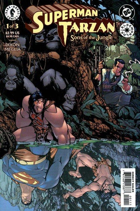 Superman – Tarzan – Sons of the Jungle #1 – 3