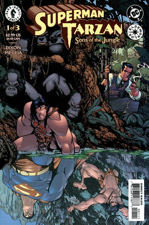 Superman – Tarzan – Sons of the Jungle #1 – 3 (2001-2002)