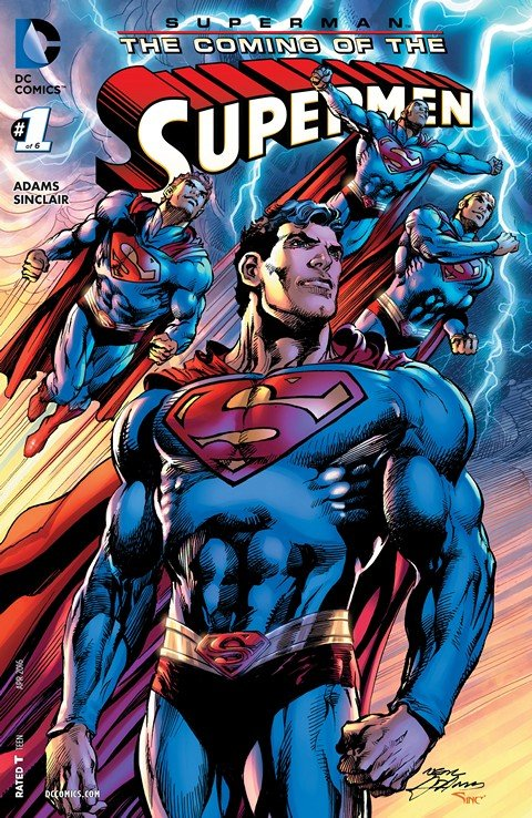 Superman – The Coming of Supermen #1